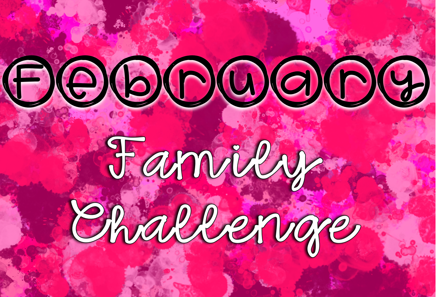"February Bronco Family Challenge - Click ""Read Full Story"" to access our monthly challenges!"