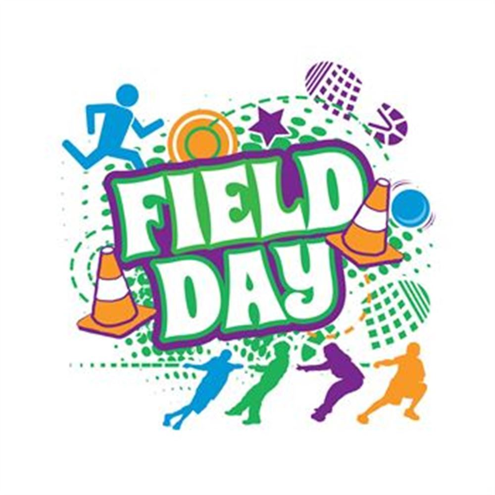 Field Days- Grades K-1 on May 14th, Grades 2-3 on May 15th, and Grades 4-5 on May 16th