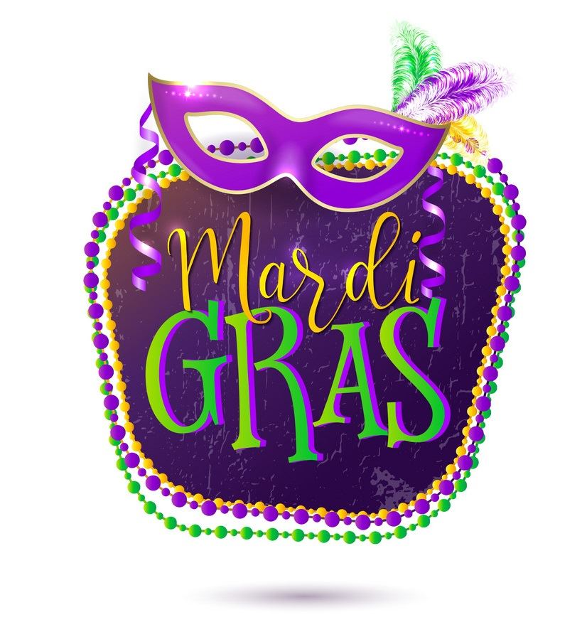 Mardi Gras Holiday - March 4-6 - Return to school on Thursday, February 7th