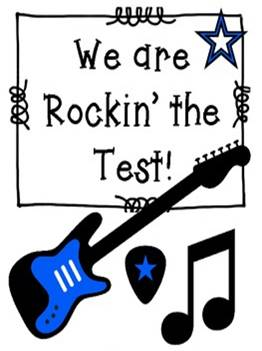 State LEAP Tests - Please be to school on time, well rested, and ready to ROCK THE TEST!  3rd and 4th grade students will test April 29th - May 3rd