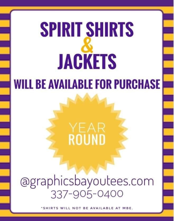 MBE Spirit Shirts