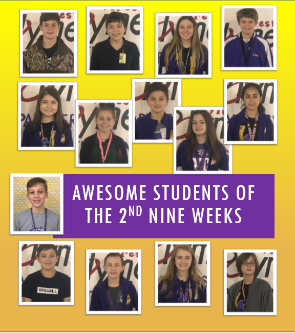 Students of the 2nd Nine Weeks