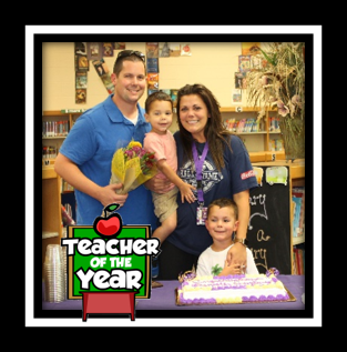 Teacher of the Year!