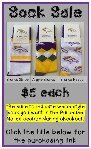 CLICK HERE for Sock Sale Link