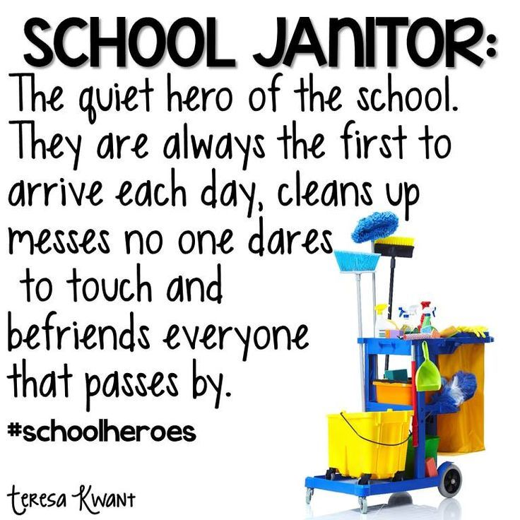 Custodian Appreciation Week April 8 - 12