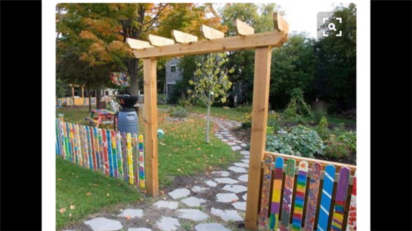 Buy a Stake to Decorate our Teaching Garden
