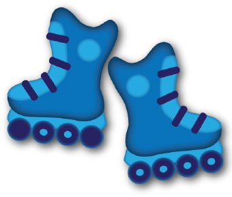 Neon Skate Night April 24 from 6-8:00 PM