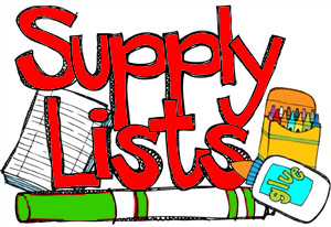 2020-2021 School Supply Lists: THANK YOU to Dewanna's Closet for their support in donating the majority of our students' supplies!
