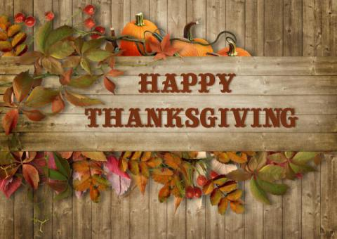 From our Oak Park Elementary Faculty and Staff to Yours, have a wonderful Thanksgiving holiday!