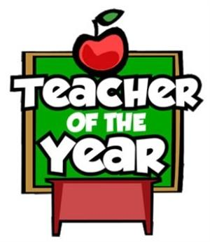 Congratulation Teacher of the Year Mrs. Donald.