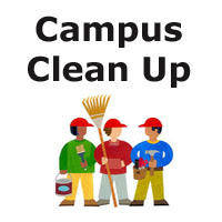 Thank you parents, students, staff, and Partners in Education for helping us with cleaning our campus.  We appreciate you!