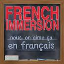 French Immersion Application and Information Flyer.  French Immersion applications are due Friday, February 8th.