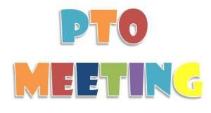 Our first PTO meeting will be held Thursday, August 29th, at 6:00pm in the cafeteria.  See you there!