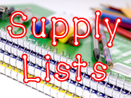 Maplewood Elementary School 2018-2019 School Supply Lists