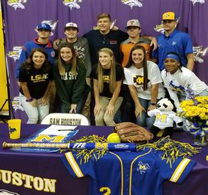 Softball and Baseball Signees