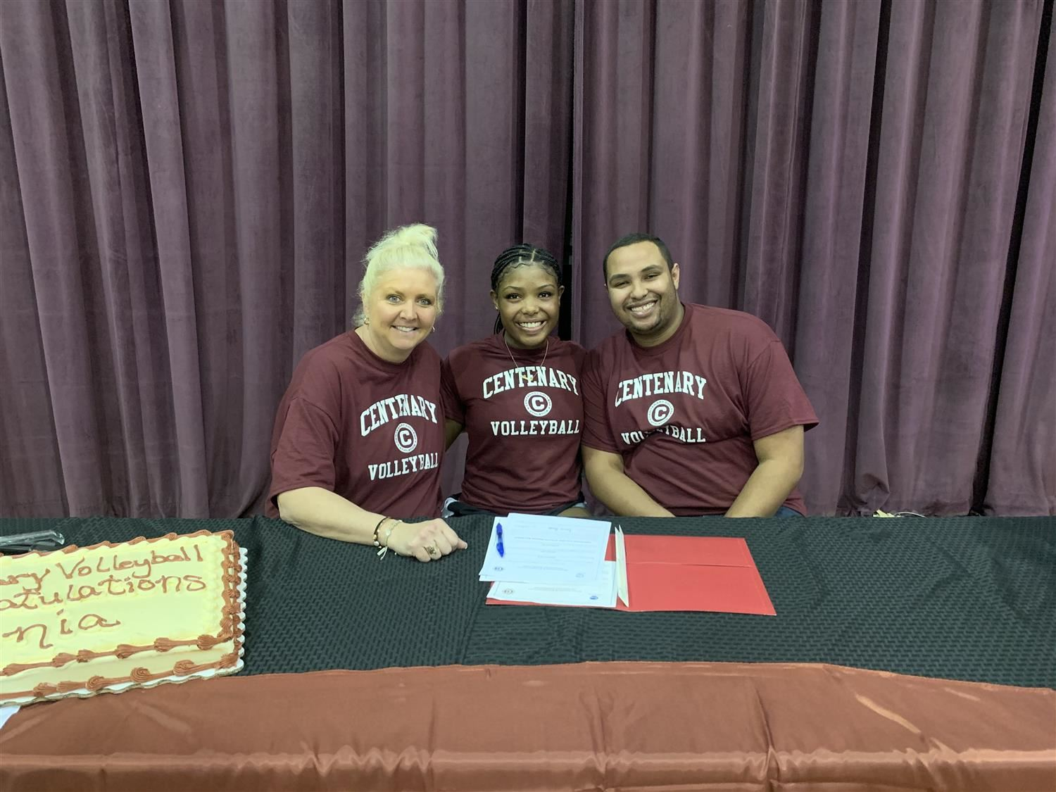 Alania B. signs with Centenary