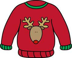 12/7 Tacky Sweater Day