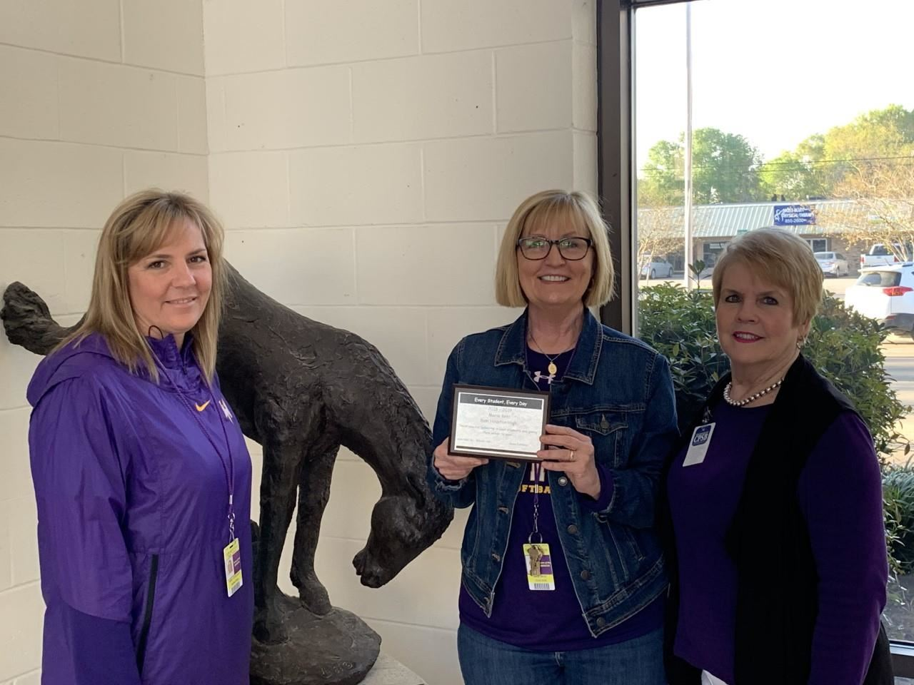 Mrs. Bent selected as CPSB SPED Teacher of the Week