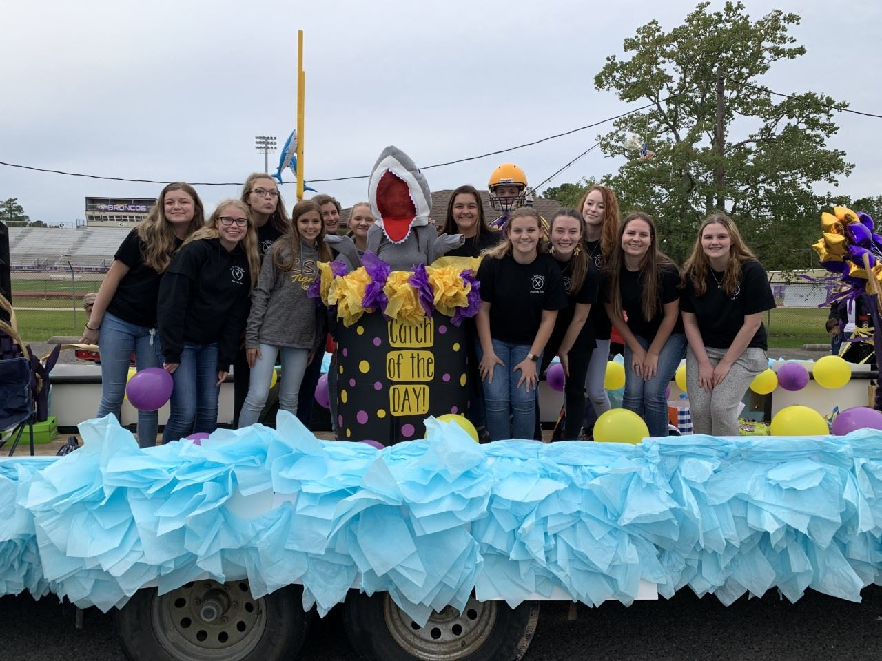 SHHS Hospitality Team Wins 2019 Homecoming School Float Competition
