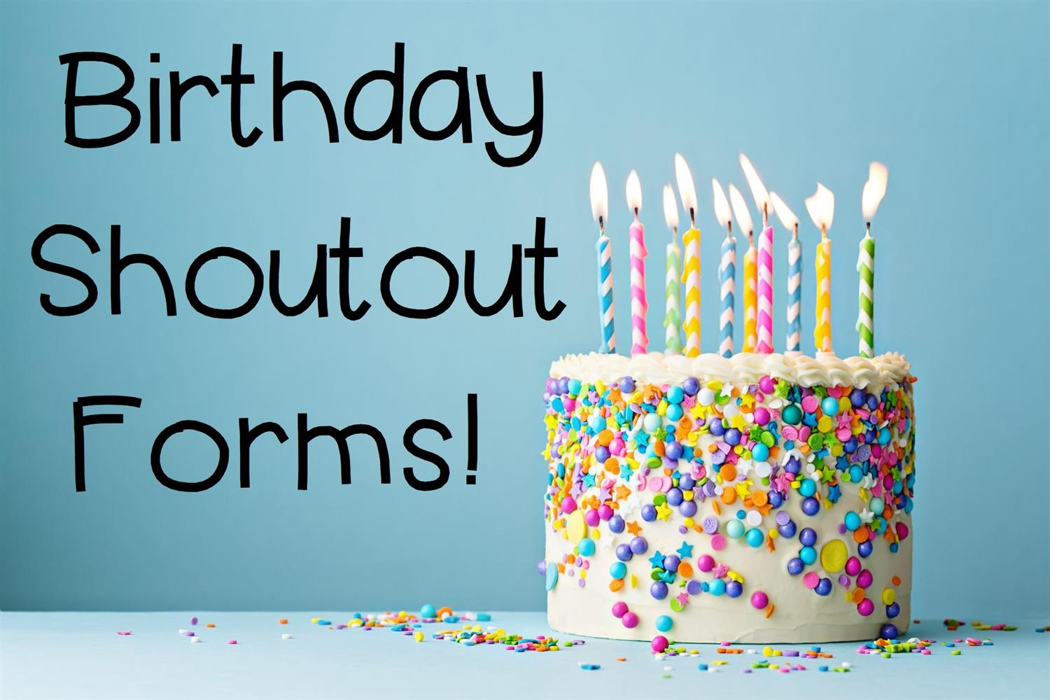 Birthday Shout-Outs!