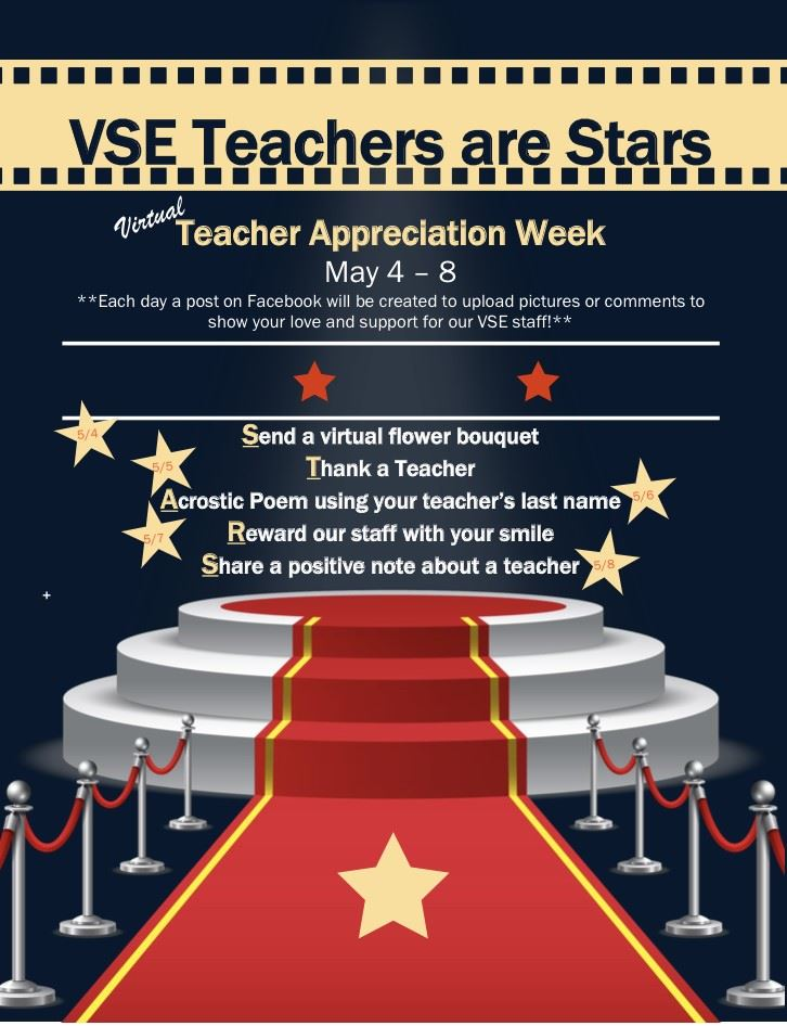 Virtual Teacher Appreciation Week