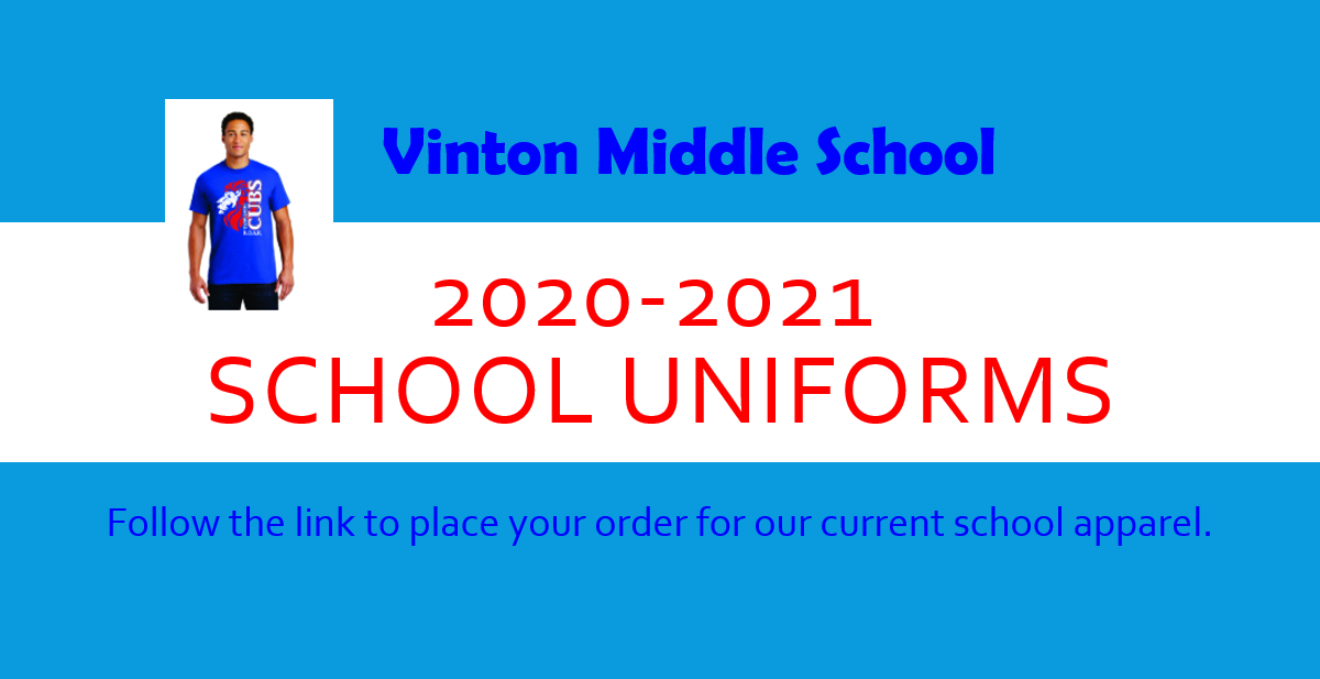 2020-2021 School Uniforms
