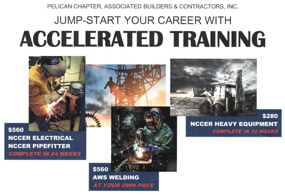 Career Training from ABC: Heavy Equipment, Electrical, Welding, Pipefitting