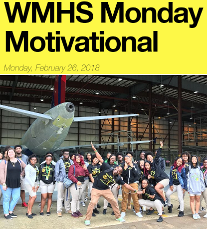 Washington Marion High School Weekly Updates