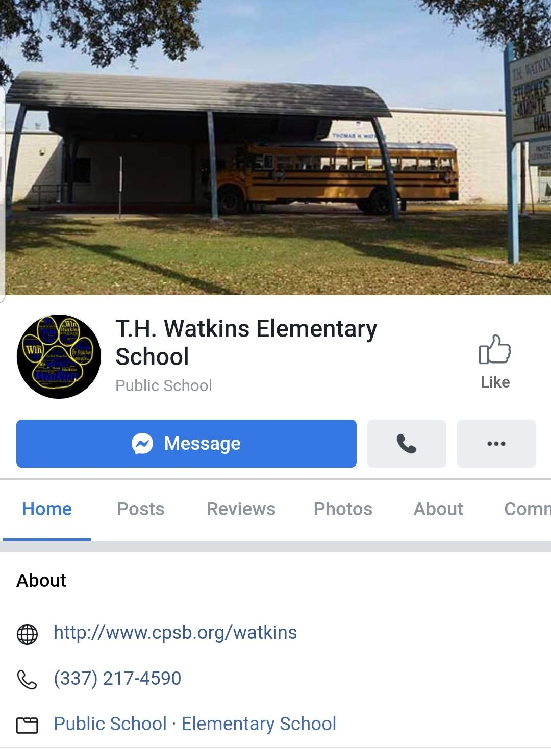 Visit and like our school facebook page at https://fb.me/itsawatkinsthing