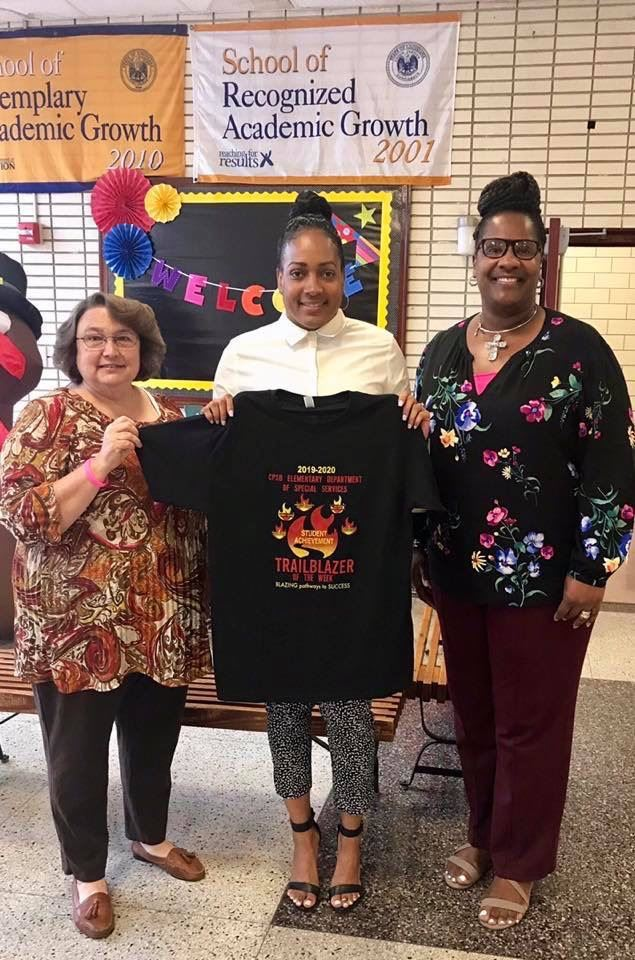 K-5 SPED Trailblazer Administrator of the Week