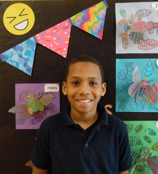 Congratulations to Daylin Braxton, he won 1st place in the Louisiana School Board Association competition (K- 5 Category). He competed against 64 parishes.  Daylin will be formally recognized at the Calcasieu Parish April School Board meeting.