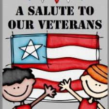 Veterans Day Program (Thursday, November 7th, at 9:00)