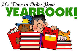 Pre-Order your Yearbook Now.Purchase your yearbooks now! Don't miss out on this special keepsake! Yearbooks  $20 cash or money order only!