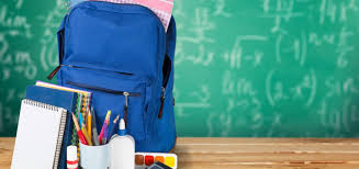 Backpacks & School Supplies - Important Information