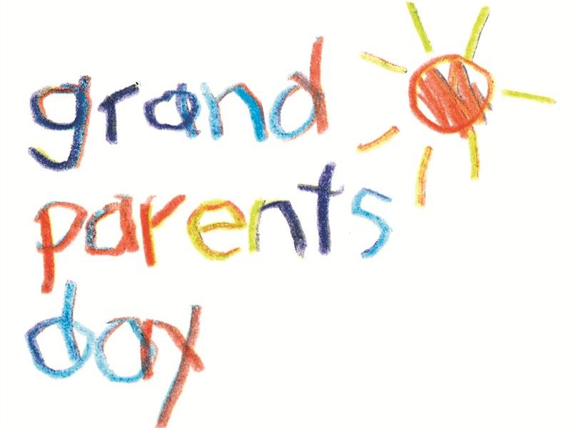 Grandparent Day Friday September 7, 2018 1:00-2:00 Come read with your grandchild!