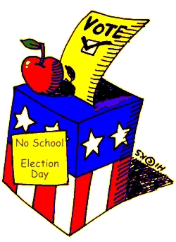 Election Day No School Tuesday November 6, 2018