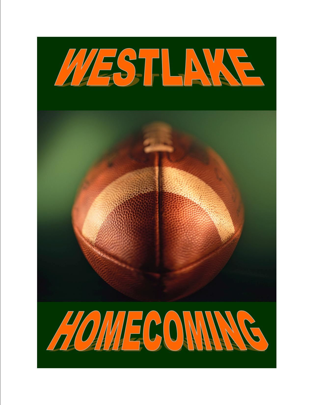 Friday October 4, 2019  12:00 Dismissal for Westlake Homecoming (No Extended Day)