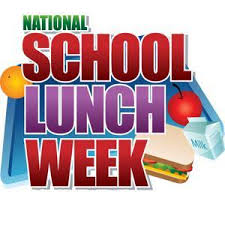 National School Lunch Week October 15-19, 2018