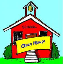 Open House Tuesday August 20th at 5:30