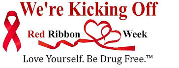 Red Ribbon Week (October 28- November 1, 2019) Stay Drug Free!! Please see full content for daily celebrations