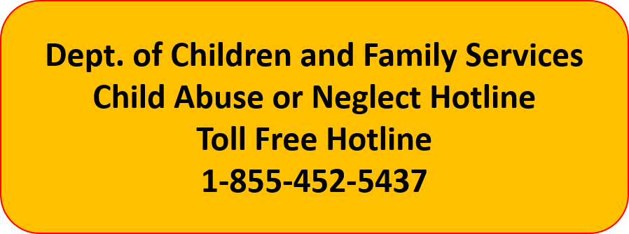 Child Protection TOLL FREE HOTLINE