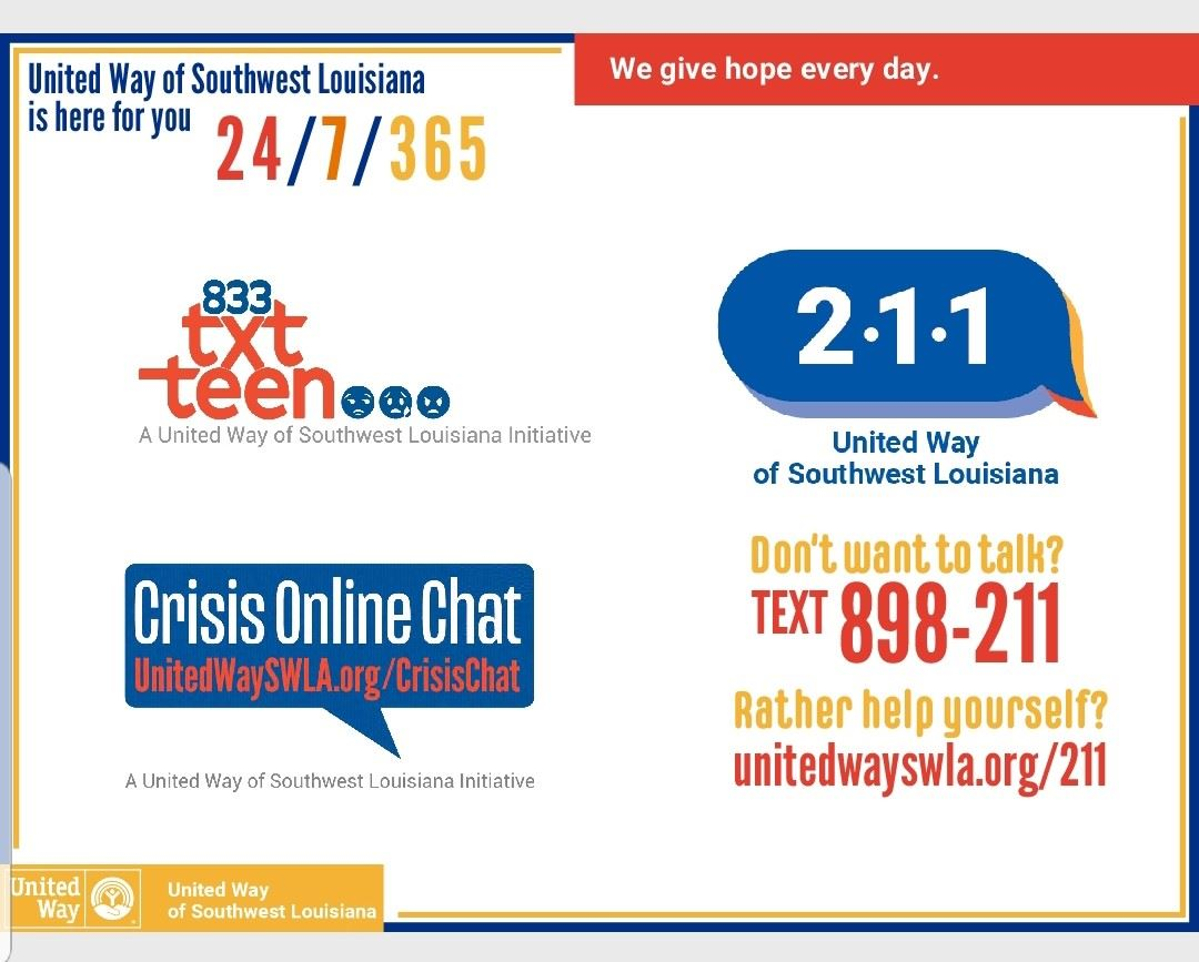 United Way of Southwest Louisiana Resources