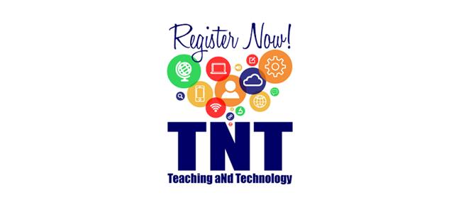 Register now for TNT logo