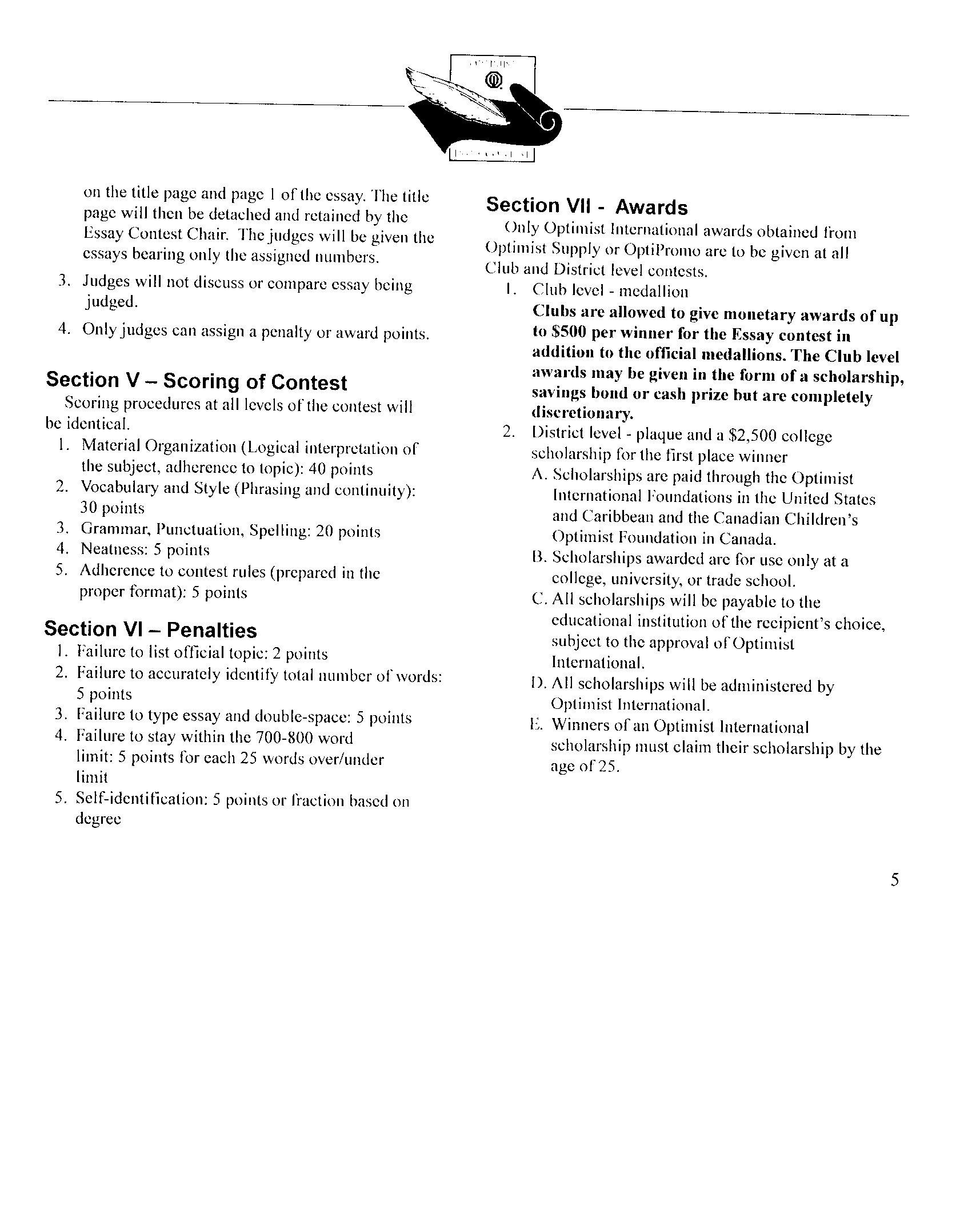 My high school memory essay